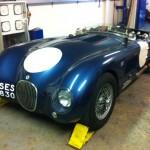 Jaguar c-type rolling road 4
