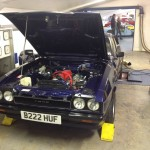 Ford Capri rolling road 2