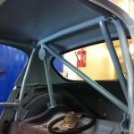 Sebring Sprite roll cage 3