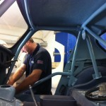 Sebring Sprite roll cage 4