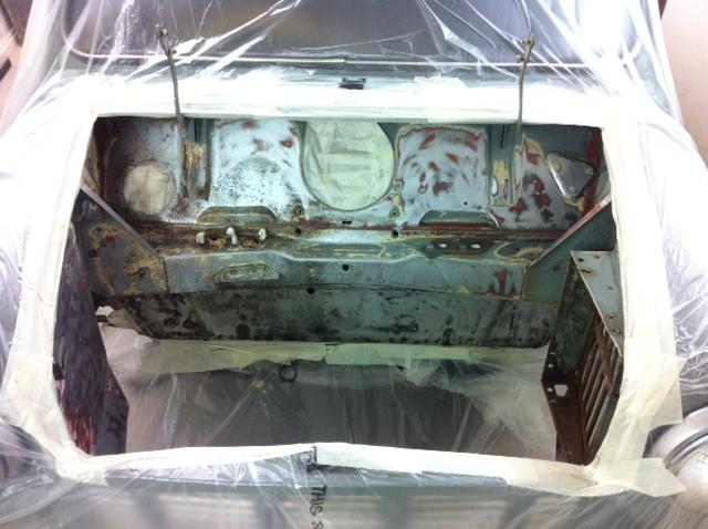 cck historic mini pick  engine bay refresh