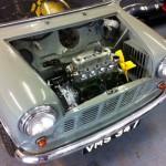 mk1 mini pickup engine in
