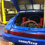 Porsche 911 Bosch rolling road 4