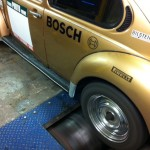 VW Beetle Weber IDF rolling road tune 3