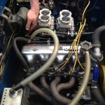 Abarth Fiat 1500 engine install 3