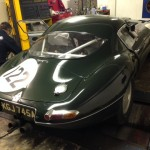 CKL Jaguar e-type lightweight low drag rolling road