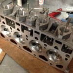 Fiat 1500 race cylinder head