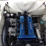 David Long Mk1 Lotus Cortina twincam engine bay