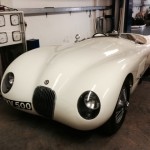 Jaguar C-type rolling road 3