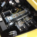 Lotus Elite Coventry Cimax engine bay