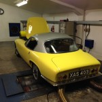 Lotus Elite rolling road