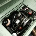 Steyr Puch Haflinger engine bay