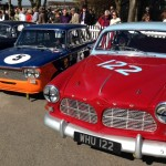 Volvo 122S Fiat 1500 Goodwood 72nd Members Meeting