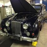 Jaguar Mk7 rolling road 2