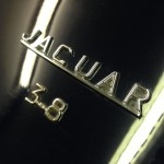 jaguar mkII rolling road boot lid badge