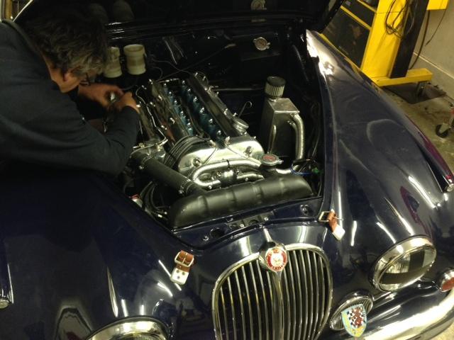 Jaguar Mk2 Race Car Cck Historic