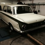 mk1 lotus cortina rolling road