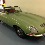 willow green jaguar e-type 3