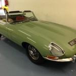 willow green jaguar e-type 3