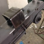 Alpina BMW CSL subframe repair