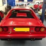 Ferrari 328 rear