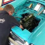 Nash Metropolitan race engine 2