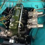 Nash Metropolitan race engine 3