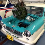 Nash Metropolitan race engine