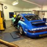 Paragon Porsche 911 rolling road