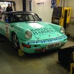 Paragon Porsche 911 rolling road 4
