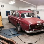 Volvo Amazon rolling road