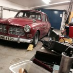 Volvo Amazon rolling road 2