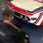 Alpina CSL front end fitting