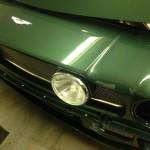 Aston Martin V8 carb setup