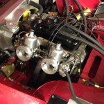 Larry Tucker Ashley Midget engine