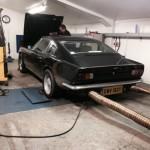 Aston Martin V8 rolling road