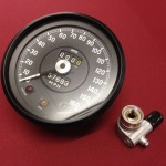 Jaguar E-type speedometer
