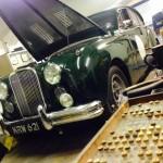 Jaguar Mk7 rolling road tune