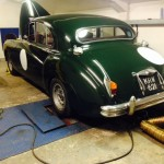 Jaguar Mk7 rolling road tune 2