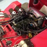 Larry Tucker Ashley Midget race engine