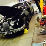 Jaguar Mk1 rolling road