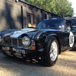 Triumph TR4 FIA race car 2