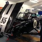 Triumph TR4 race preparation