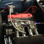 Tim Abbott BMW 1800ti engine