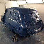 mk1 mini cooper s island blue paint