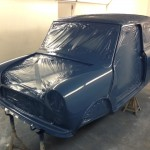 mk1 mini cooper s island blue paint 2