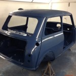 mk1 mini cooper s island blue paint 3