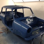 mk1 mini cooper s island blue paint 4