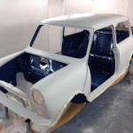 mk1 mini cooper s shell island blue paint