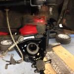 Alfa Romeo 2000GTV front suspension rebuild